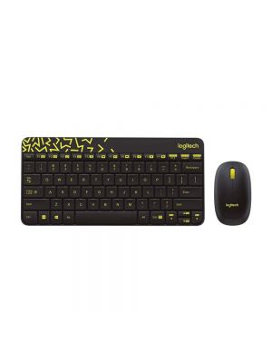 Logitech MK240 Wireless Keyboard & Mouse Combo (Black)