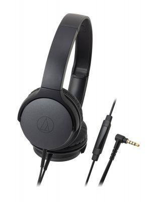 Audio-Technica ATH-AR1iS On-Ear Headphone with Mic (Black)