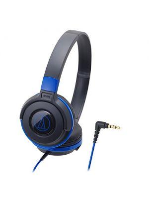 Audio-Technica Street Monitoring ATH-S100 On-Ear Headphone (Black/Blue)