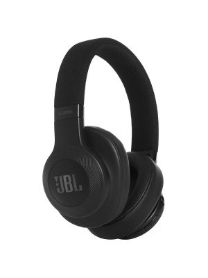 JBL E55BT Over-Ear Wireless Headphones with Mic (Black)