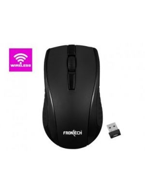 Frontech Wireless Mouse 2.4 GHZ FT-3798 (Black)