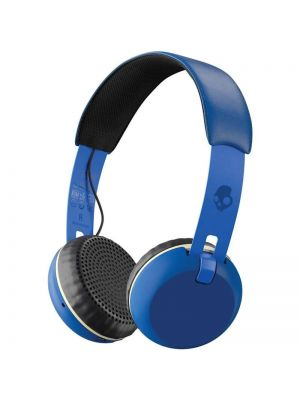 Skullcandy Grind On-Ear Bluetooth Headphones with Mic (Blue)