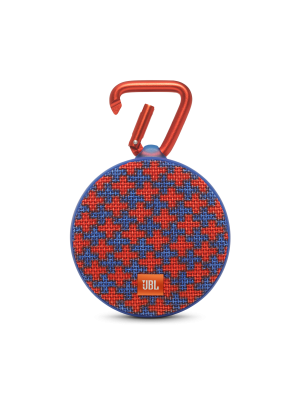 JBL Clip 2 SpecialEdition Portable Wireless Bluetooth Speaker (Red)