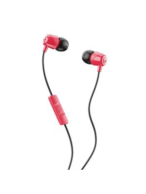 Skullcandy Jib In-Ear Earphone with Mic (Red,Black)