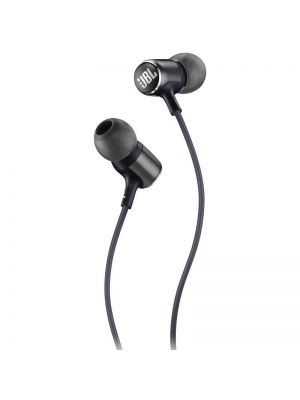JBL Live 100 In-Ear Headphones with Mic (Black)