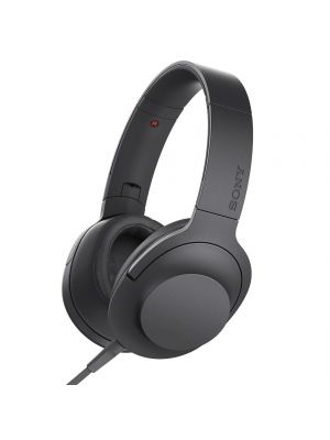 Sony MDR-100AAP Over-Ear Hi-Res Audio Headphones (Charcoal Black)