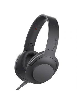 Sony MDR-100AAP Over-Ear Hi-Res Audio Headphones (Charcoal Black)
