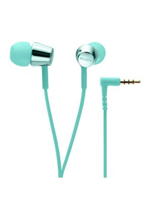 Sony MDR-EX155 In-Ear Headphones (Light Blue)