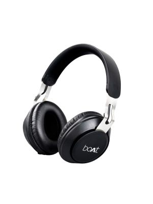BoAt Rockerz 480 Over Ear Wireless Headphone (Matte Black)