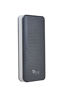 Syska Shell 100 10000mAh Power Bank (Black/Grey)