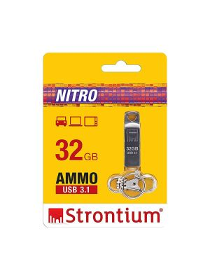 Strontium 3.1 32 GB USB Flash Drive (Silver)