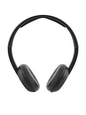 Skullcandy Uproar On-Ear Wireless Headphone with Mic (Black)