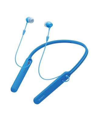 Sony WI-C400 In-Ear Bluetooth Headphones With Neckband (Blue)