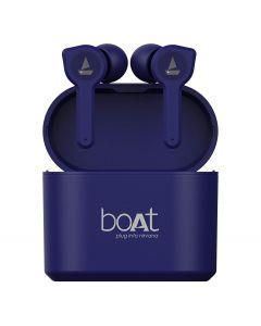 BoAt Airdopes 402/408 True Wireless Bluetooth Headset  (Blue)