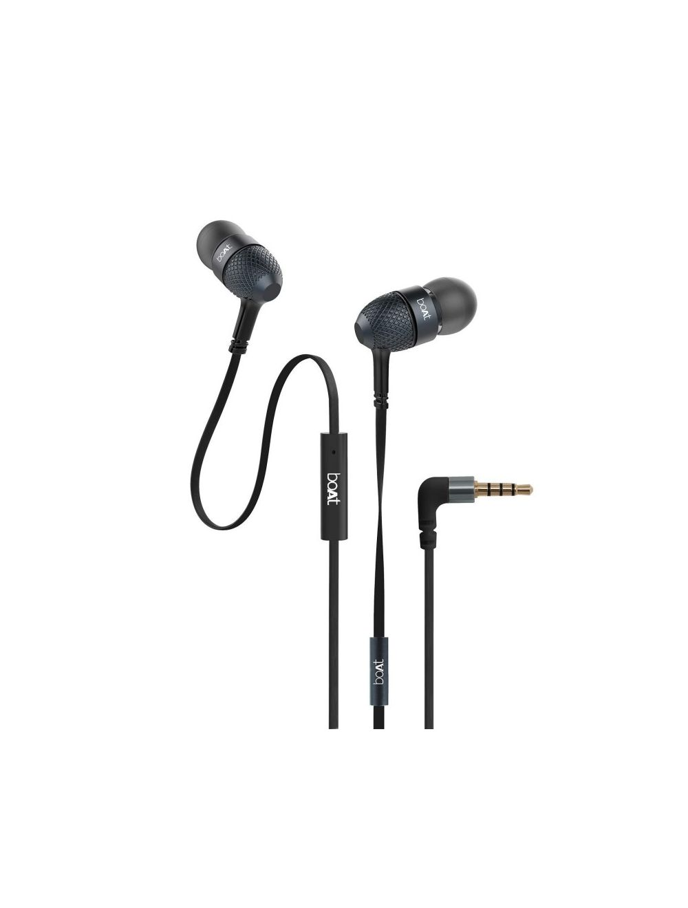 227eca5f7ca Boat Bassheads 225 In-Ear Headphones With Mic (Black)