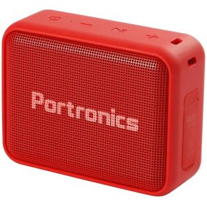 Portronics Dynamo POR 738 Portable Bluetooth Speaker with FM Red