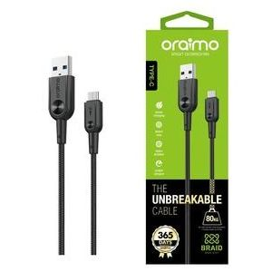 Oraimo Cable OCD-C31 Type-C Cable Nylon Braided (Black)