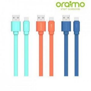 Oraimo Candy OCD-M22 Micro Fast Charging Micro Cable (Black)