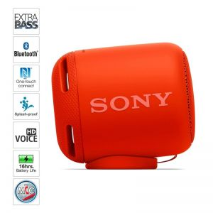 Sony Extra Bass SRS-XB10 Portable Wireless Speakers (Red)