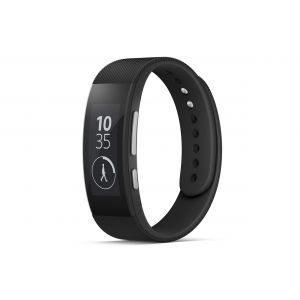 Sony SmartBand Talk SWR30 Health and Fitness Tracker (Black)