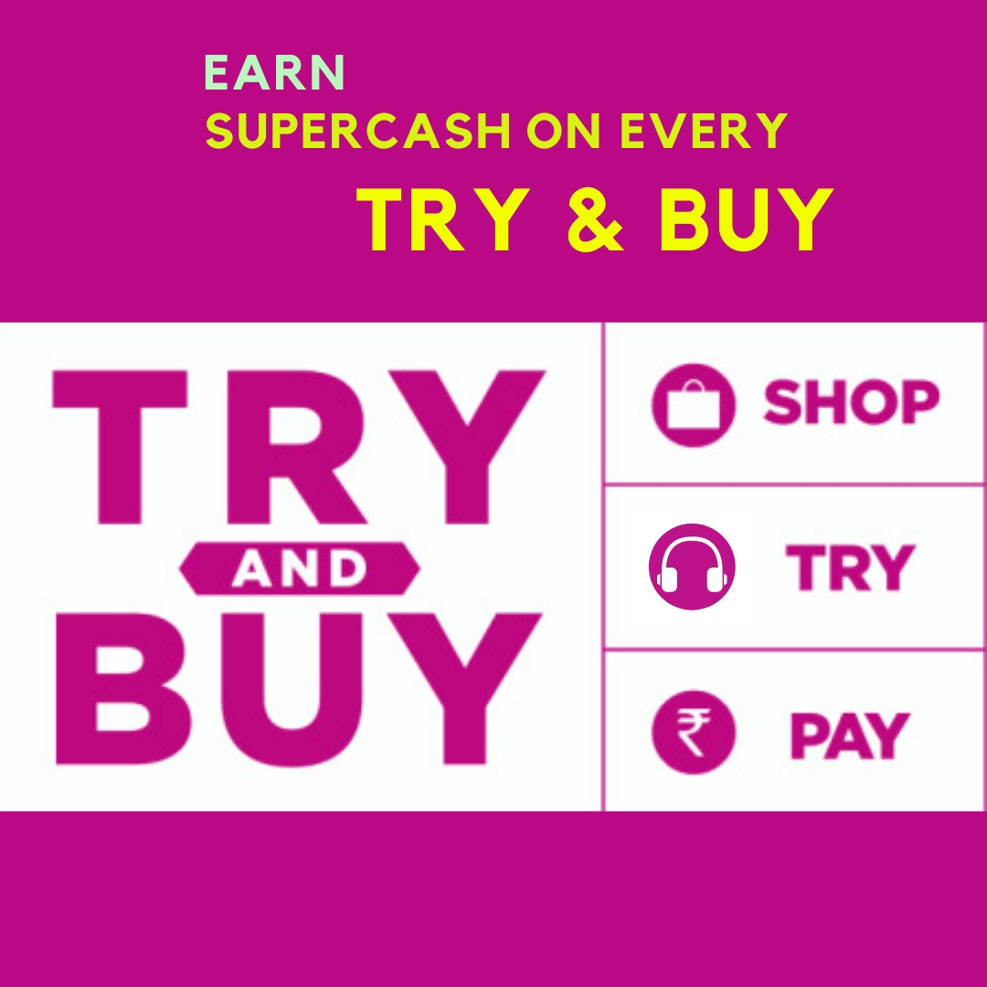 Try and Buy Additional SuperCash